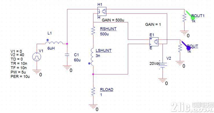 并联电阻的分流电感很重要