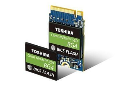 东芝第四代BGA SSD来了:96层3D TLC,最高1TB容量