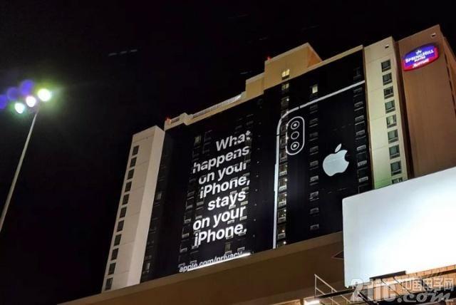 未参展CES2019,但苹果在展馆附近竖起广告牌!