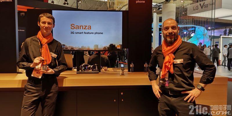定价20美元,紫光展锐携手Orange、KaiOS发布新款3G智能功能机Sanza