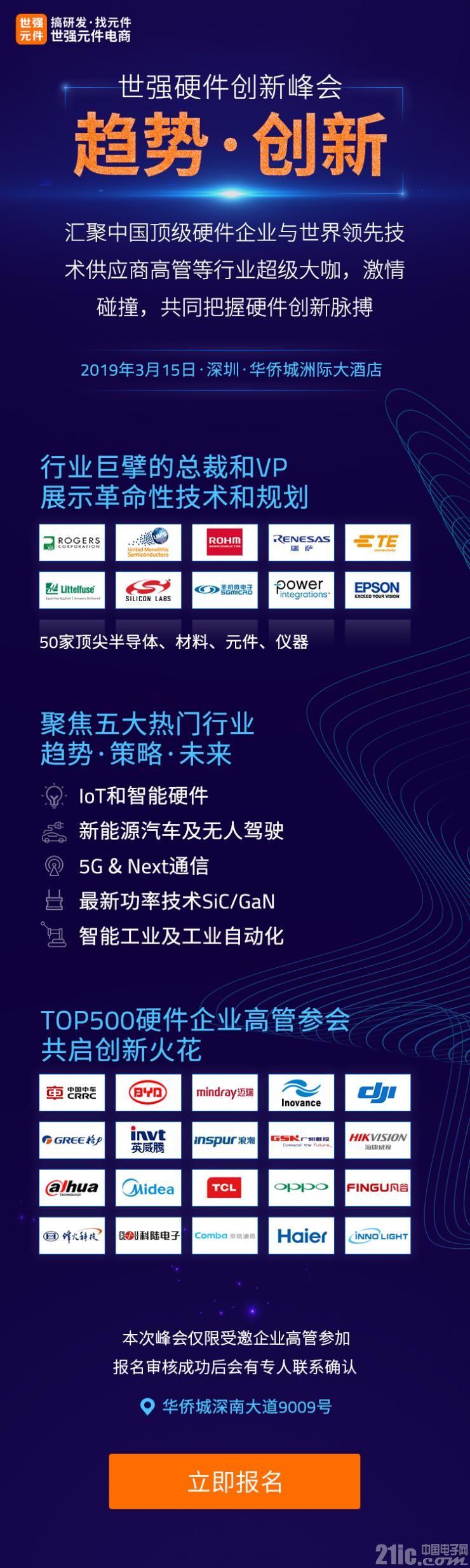 "Melexis将发布最新传感器汽车市场发展战略--2019""硬件创新峰会""前瞻"