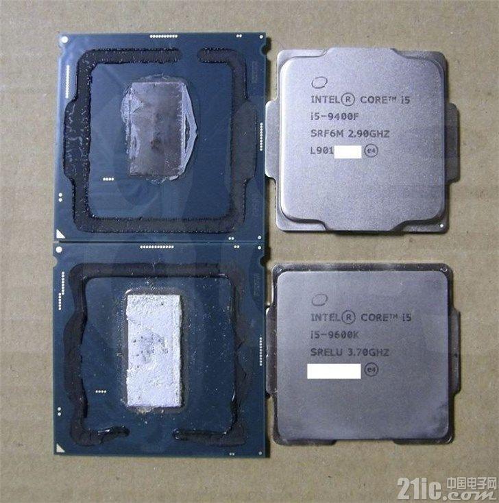 英特尔i5-9400F抛弃了核显,还是硅脂导热