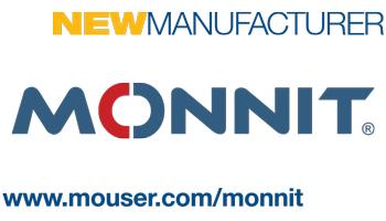 贸泽电子与Monnit 签署全球分销协议  开售Monnit的无线传感器、物联网套件等产品