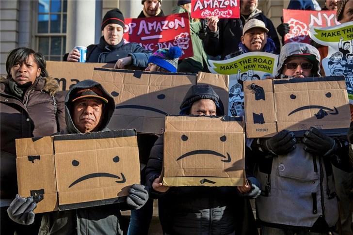 因议员工会激烈反对,亚马逊取消在纽约建新公司总部的计划!