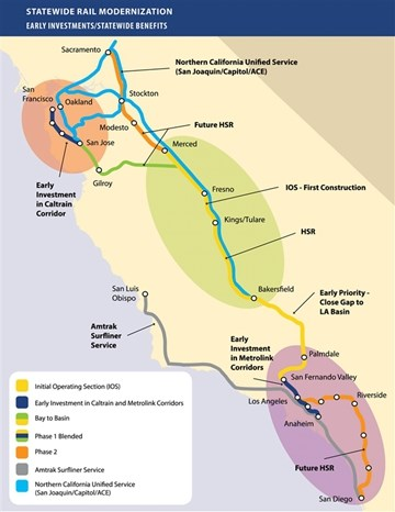 造高铁还是挺难的!美国宣布正式放弃加州高铁