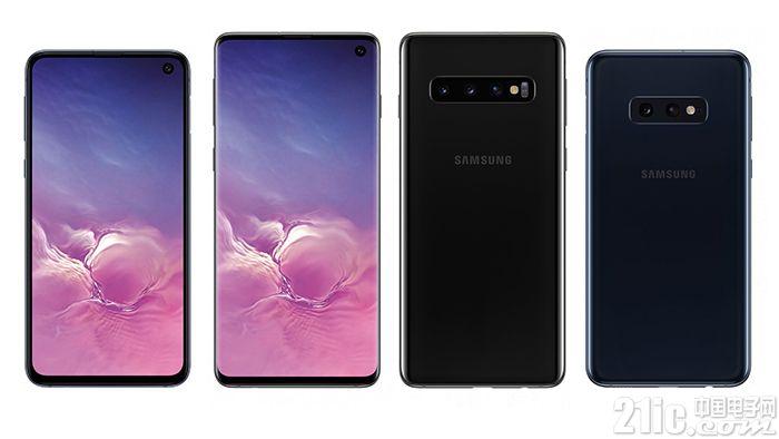 三星Galaxy S10系列全家渲染图曝光:高端和廉价版差别太明显!