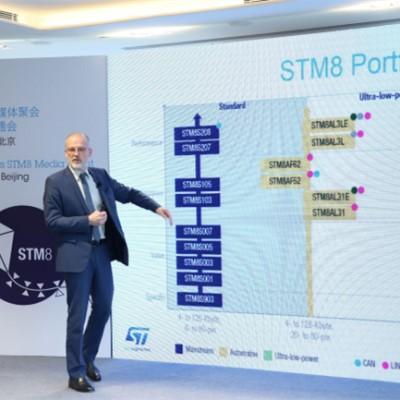 8条腿的8位MCU,开启STM8次世代