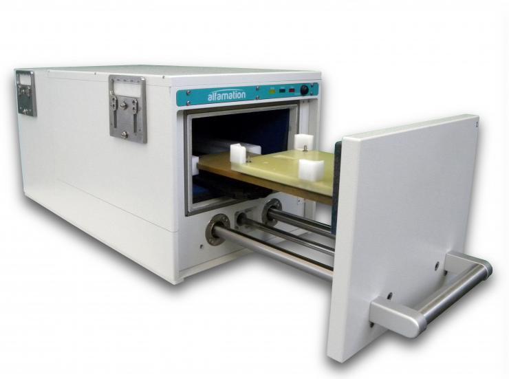 ALFAMATION推出重型紧凑可堆叠声学测试室