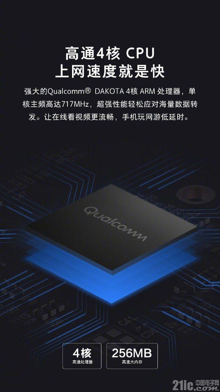 小米公布Mesh路由器配置:高通4核CPU,最高可连接248台设备