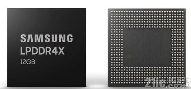 手机内存超越电脑!三星开始量产12GB LPDDR4X手机内存