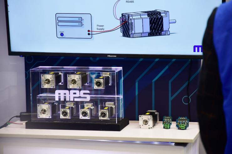 "MPS推出最新一体化电机驱动模块 --为""智能""而生"