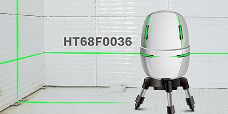 HOLTEK新推出HT68F0036大驱动电流I/O MCU