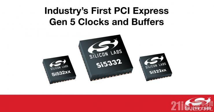 Silicon Labs推出性能和功耗�I先的PCI Express Gen 5�r�和��_器