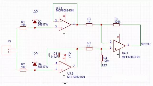 精讲运放的轨到轨与偏置电压设计---MCP6002