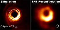 第一张黑洞照片是怎么回事?第一张黑洞照片究竟是什么样子?