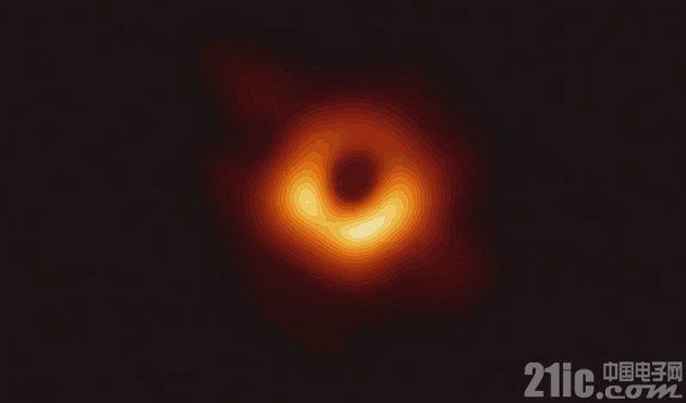 """一睹""""真容""""!世界第一张黑洞照片正式公布!"""