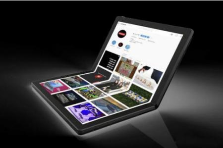 联想可折叠笔记本原型机ThinkPad X1发布