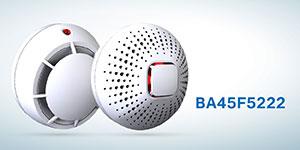 HOLTEK新推出BA45F5222 感烟探测器 MCU