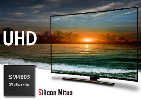 Silicon Mitus:�I界首款通用型UHD TV LCD�@示面板 �源管理IC提供高集成度和大�出功率