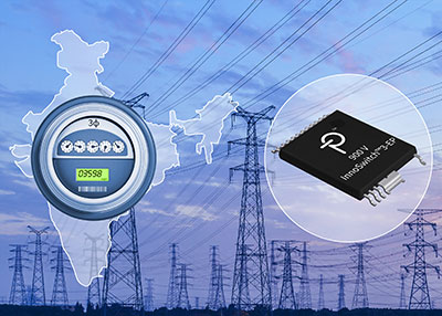 Power Integrations发布集成了900V MOSFET的全系列开关电源IC
