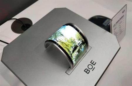 京东方柔性OLED面板,出货量占比超11%,华为助力