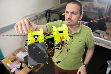 将树懒的原理运用于研究机器人