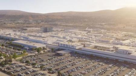 特斯拉为生产Model Y对工厂进行调整.png