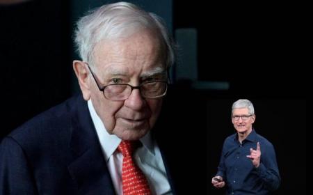 """库克:我对巴菲特持有巨额苹果股票感到""""很激动"""""""