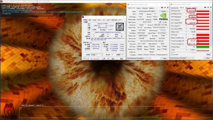舍我其谁?iGame RTX 2080 Ti Vulcan烤机温度、功耗双测评