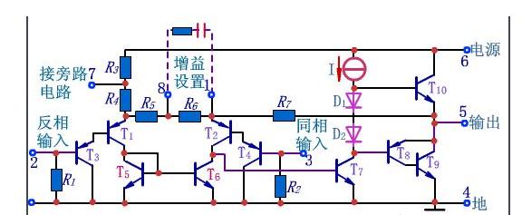 什么是LM386?LM386内部电路原理图及参数详解