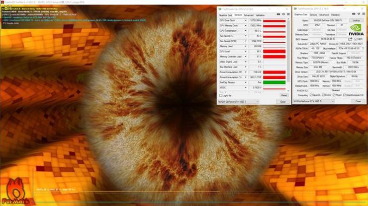 索泰GTX 1660 Ti X-GAMING OC显卡测评之温度、功耗双测评