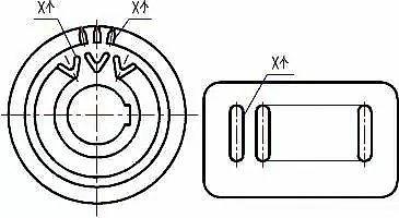 大佬讲解机械制图基础知识(二),机械制图基础知识之图样简化画法