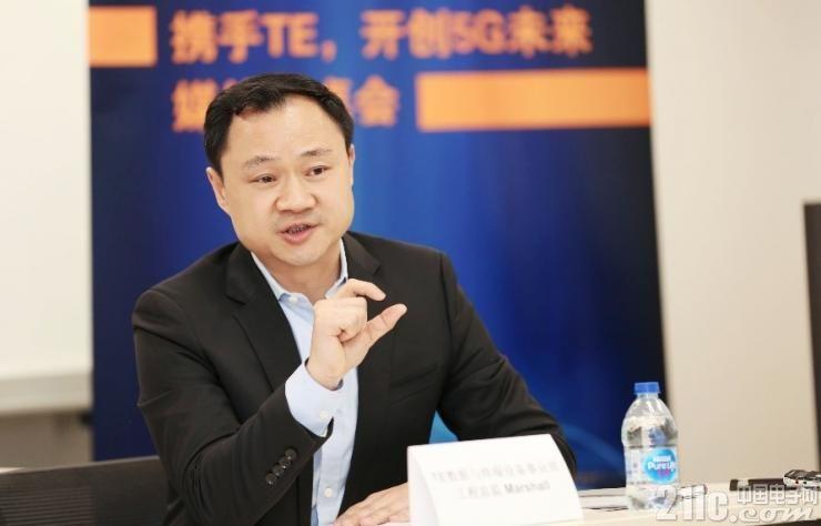 TE数据与终端设备事业部工程总监 Marshall 陈家辉先生