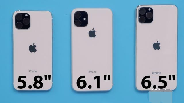 三款iPhone 11再次透露, 尺寸像素都曝光