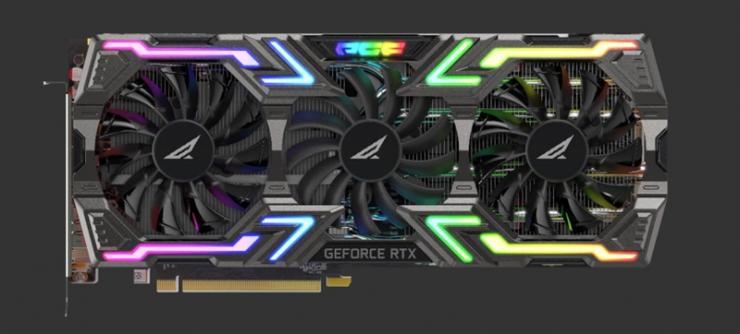 超酷超炫丽显卡——索泰RTX2080 PGF OC