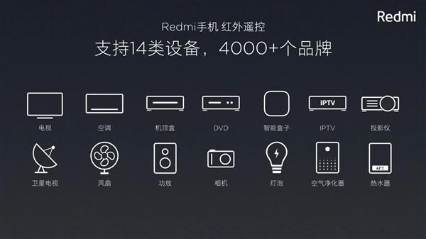 Redmi Note 8系列,让遥控器从此消失