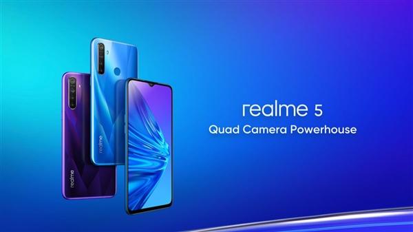 基于Android 9深度定制,realme 5正式�l布