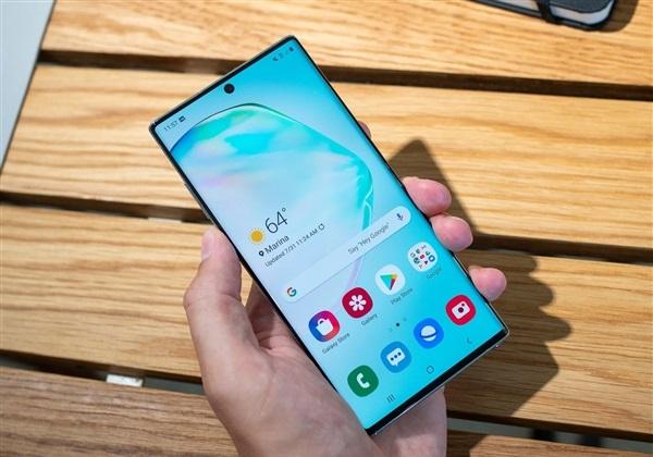 三星Galaxy Note 10+在屏幕方面是最佳王者吗?