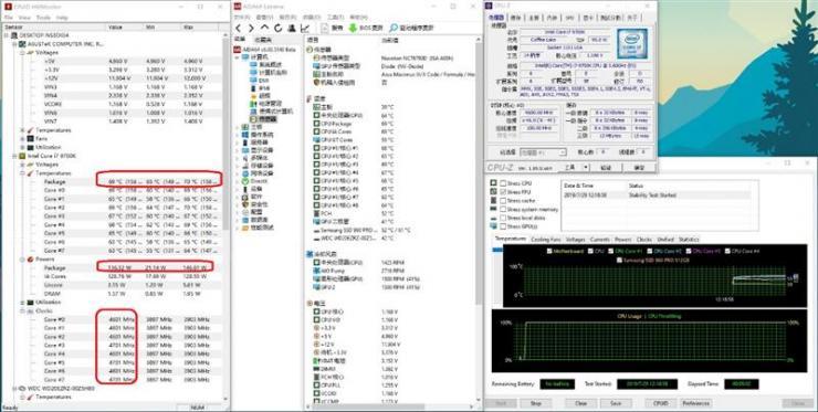 酷睿i7-9700K测评之烤机温度、超频性能双测评