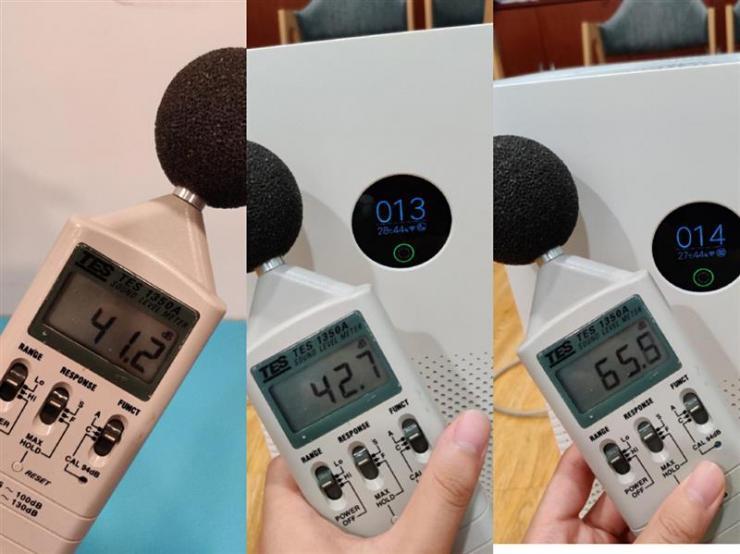 米家空气净化器3实际测评之能耗、噪音测评