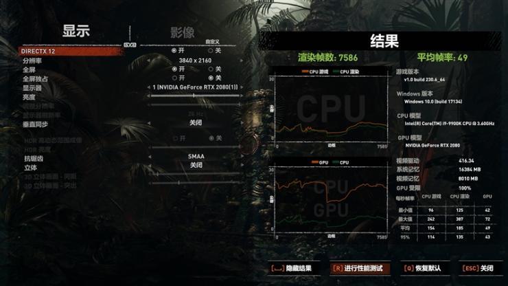 索泰RTX2080 PGF OC�@卡�y�u之超�l性能�y�u