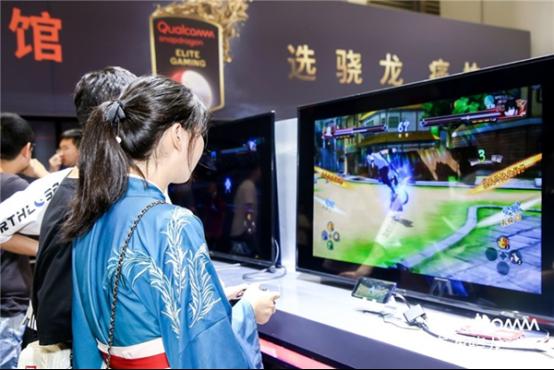 骁龙芯提供玩手机游戏专业体验 火力全开成就竞技王者