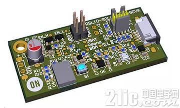 RSL10太阳能电池多传感器平台