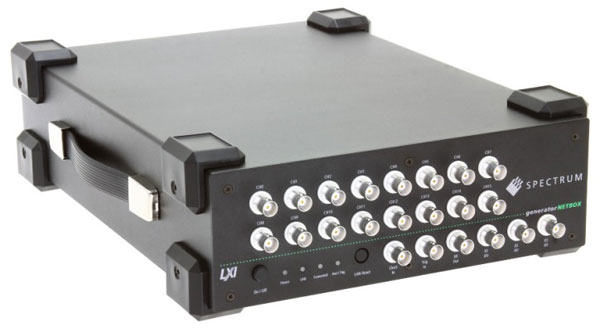 Spectrum仪器推出16通道便携式任意波形发生器AWG