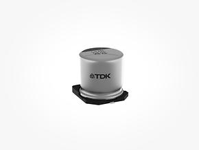 铝电解电容器: 采用混合聚合物技术的坚固耐用型贴片(SMD)电容器