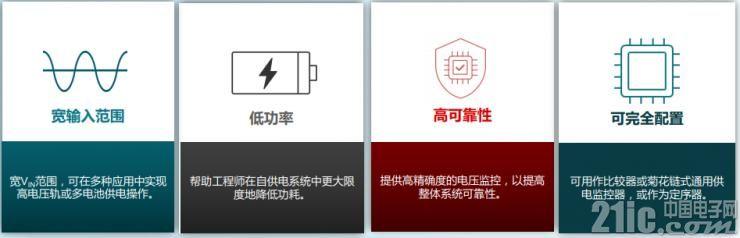 TPS3840电压监控器的优点