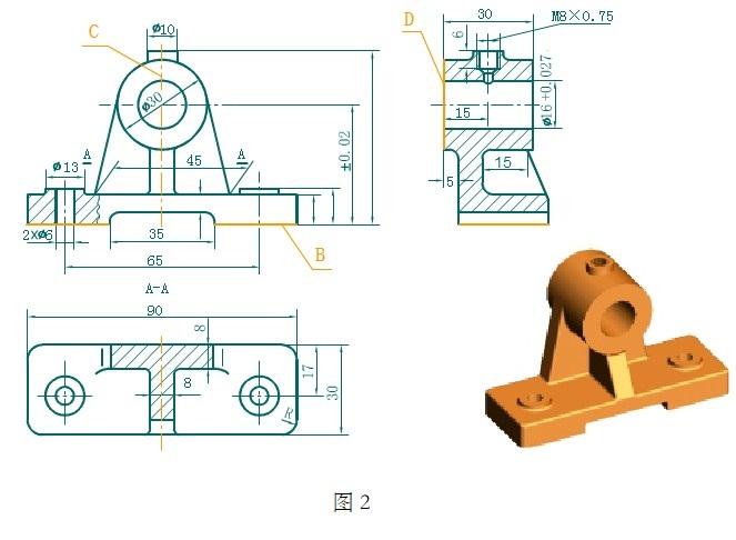 大佬讲解机械制图基础知识(十二),机械制图基础知识之零件图尺寸标注