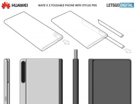 华为可折叠手机专利曝光,快来看看长啥样