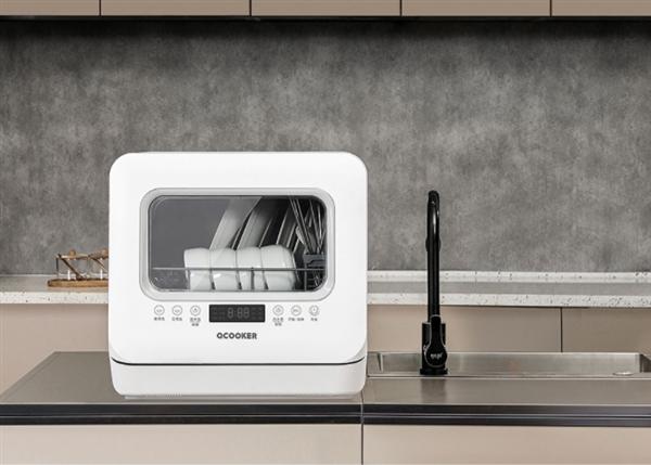 圈厨台式洗碗机,拥抱智能,拥抱舒适生活