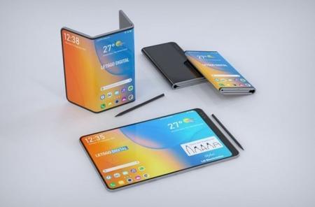 荷兰科技报道:LG双折叠手机专利 外观设计时尚超前